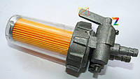 Топливный кран стакан пластиковый (R190)