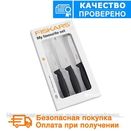Набор ножей для овощей Fiskars FF My favorites set (1014199), фото 2