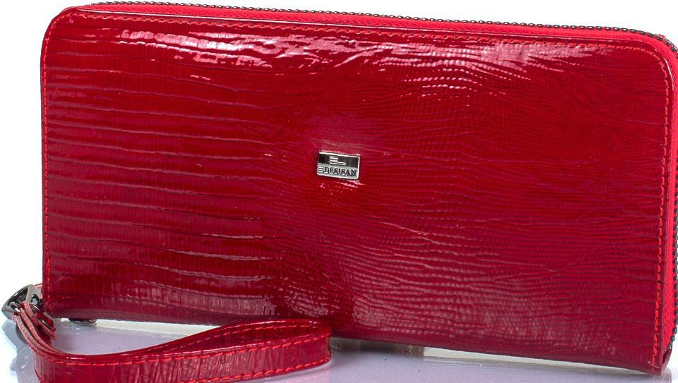 Жіночий шкіряний гаманець Desisan червоний