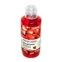 Пена для ванн Fresh Juice 1л strawberry&red bayberry