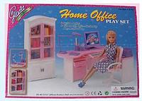 Мебель для кукол Gloria 24018 Офис для Барби, фото 1