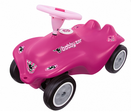 Машинка - каталка розовая Bobby Car Rockstar BIG