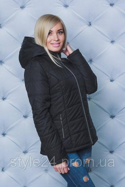 b4484780be2336 Жіноча весняна куртка з капюшоном.Р-ри 42-58: продажа, цена в Одесі ...