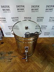 Бюджетная зерновая кастрюля - пивоварня до 60 литров готового сусла.