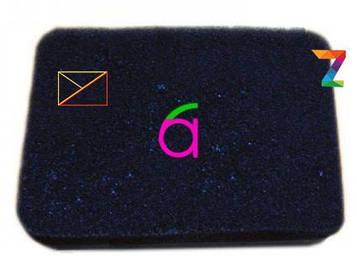 Элемент фильтра воздушного поролоновый прямоугольный (188F, 190F)