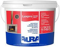 Глубокоматовая краска Aura Luxpro Extramatt 10л – для стен и пололков
