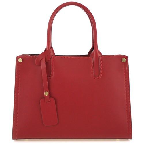 Кожаная женская сумка Эрика
