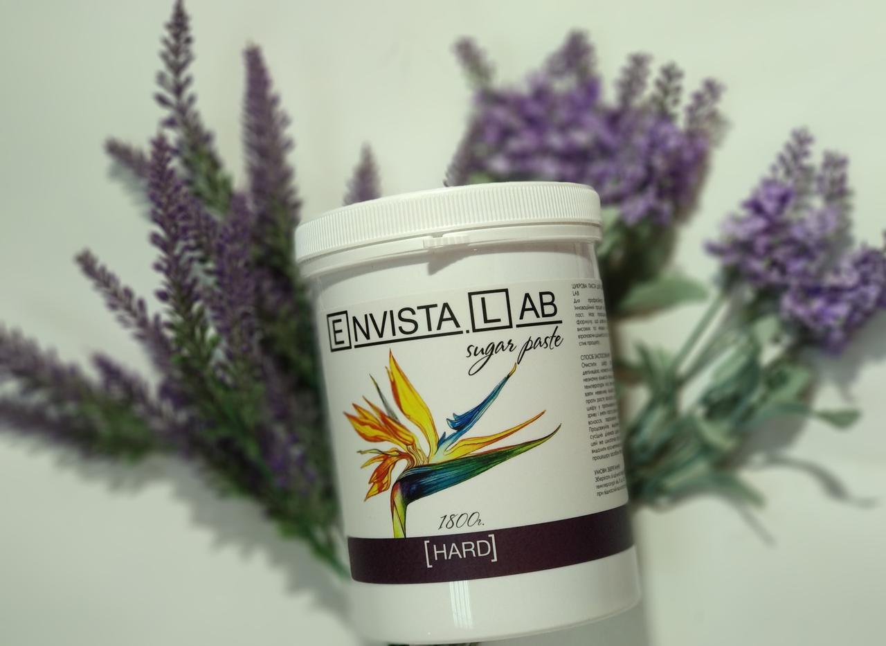 """Шугаринг .Cахарная паста для депиляции """"Envista.Lab"""" HARD 1,8 кг"""