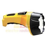 TH2295 аккум. фонарь желтый 15LED