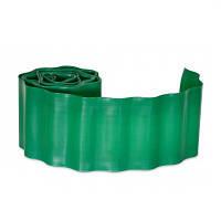 Бордюр газонний 20 см * 9 м зелений Верано 70-842