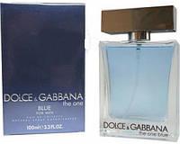 Мужская туалетная вода Dolce&Gabbana The One blue (Дольче и Габбана Зе Ван блю)