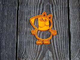 Свинка Пеппа. Лисичка Фредді - Форма для печива і пряників