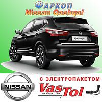 Фаркоп Nissan Qashqai (прицепное устройство Ниссан Кашкай), фото 1
