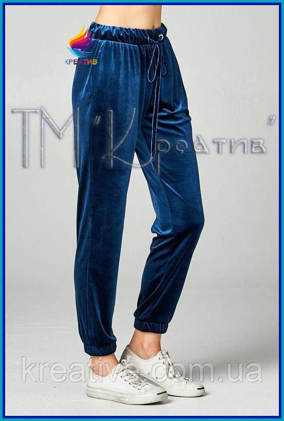 Велюровые штаны оптом (под заказ от 50 шт)