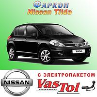 Фаркоп Nissan Tiida (прицепное Ниссан Тиида), фото 1