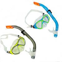 Набор для плавания подростковый маска с трубкой M258-SN93-PVC