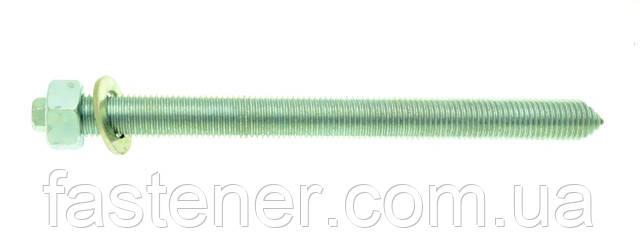 Анкерная шпилька VA-A 20х260 с гайкой, шайбой, упак - 10 шт, Швеция