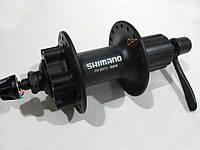 Втулка задняя алюминиевая SHIMANO HB-M475 9/8 скоростей 36H