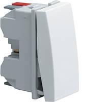 Выключатель универсальный 1М Systo Hager, 16А/250В, цвет белый