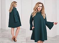 """Платье больших размеров """" Широкий рукав """" Dress Code, фото 1"""