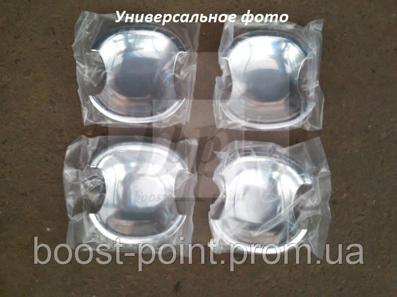 Хром накладки под дверные ручки (мыльницы) Skoda fabia I (шкода фабия) 1999-2007