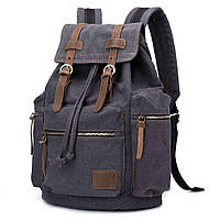 Рюкзак канвас BP001-BK, фото 1