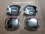 Хром накладки под дверные ручки (мыльницы) volkswagen golf VI (фольксваген гольф 6) 2008-2012, фото 2