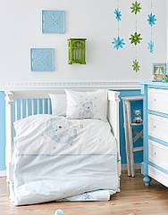 Детский набор в кроватку для младенцев Karaca Home - Moon 2018-1 (10 предметов)