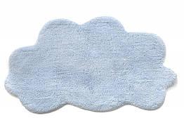 Коврик в детскую комнату Irya  Cloud mavi 50*80 голубой (8699396064196)