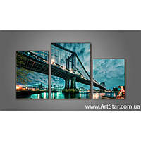 Модульная картина Бруклинский мост 7