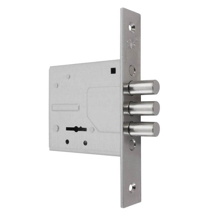 Замки для металлических дверей врезной Рязань ЗВ8-6/13-6-сувальдный 3 ключа (без уключины)