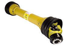 Карданный вал тип T5 в защитном кожухе (крестовина 35 х 98 мм, Pном 64-100 л.с)