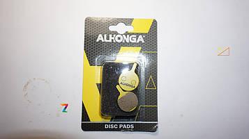 Тормозные колодки под диск.торм модель.04 состав органик ALHONGA