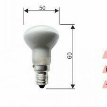 Лампа  RIGHT HAUSEN 30W E14 R39 рефлекторная
