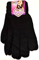 Женские перчатки одинарные. В упаковке 12 пар