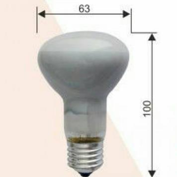 Лампа  RIGHT HAUSEN 60W R63 рефлекторная