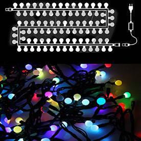 Гирлянда светодиодная шары маленькие, 20 LED(Фигур_Шар*мал-20LED)