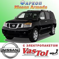 Фаркоп Nissan Armada (прицепное Ниссан Армада)