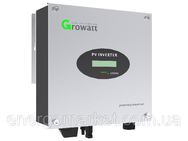 Инвертор напряжения сетевой GROWATT 5000 TL (4.6 кВт, 1-фазный, 1 МРРТ)