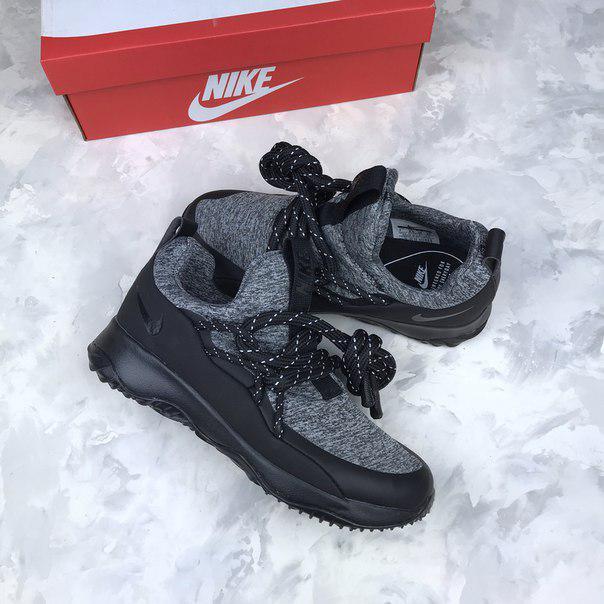 d68c3d481c2f Женские кроссовки Nike City Loop Black   White найк серые  продажа ...