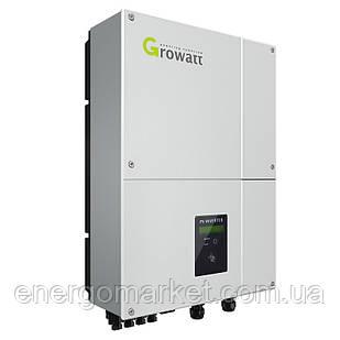 Инвертор напряжения сетевой GROWATT 5000MTLS (4.6 кВт, 1-фазный, 2 МРРТ)