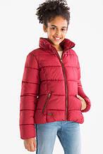 Красная демисезонная куртка для девочки C&A Германия Размер 140