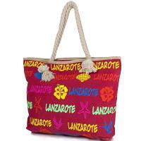 Пляжная сумка Famo Женская пляжная тканевая сумка FAMO (ФАМО) DC1819-02