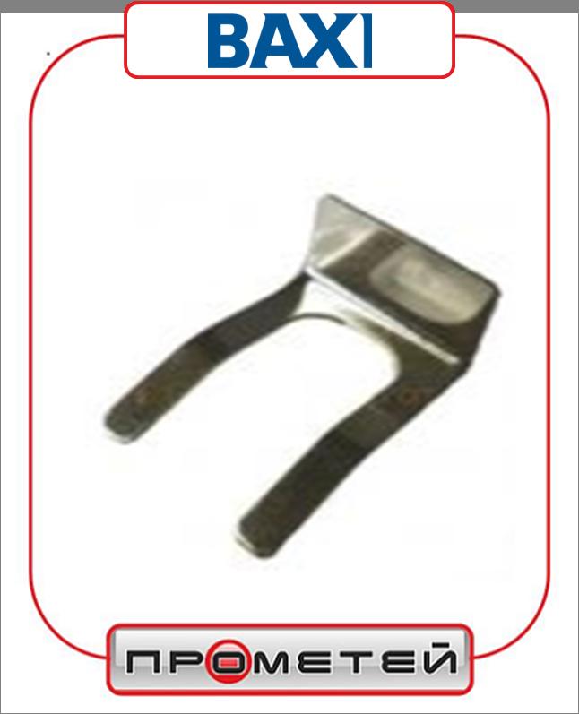 Скоба (клипса, фиксатор) для трехходового клапана Baxi 8383680