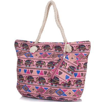 adfc53bca7c0 Пляжная сумка Famo Женская пляжная тканевая сумка FAMO (ФАМО) DC1803-01 -  Интернет