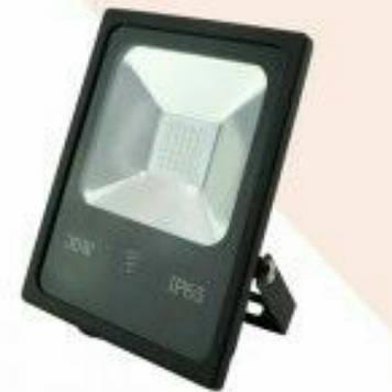 Прожектор Right Hausen led 30W 6500k ip65 чорний з датчиком руху
