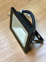 Светодиодный прожектор PREMIUM Slim SMD SL-4101 10W 6000K IP65 черный Код.59232, фото 2