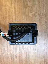 Светодиодный прожектор PREMIUM Slim SMD SL-4101 10W 6000K IP65 черный Код.59232, фото 3