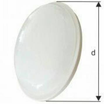 Светильник настенно-потолочный Led Rigth Hausen круг 15w 4000k ip65 белый мат.