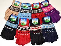 Женские перчатки двойные Tanya 02-03 Z. В упаковке 12 пар